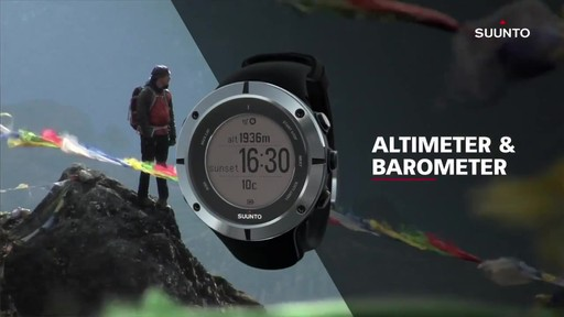 SUUNTO Ambit2 - image 9 from the video