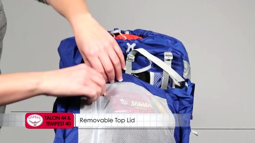 OSPREY Talon 44 and Tempest 40 Packs - image 8 from the video