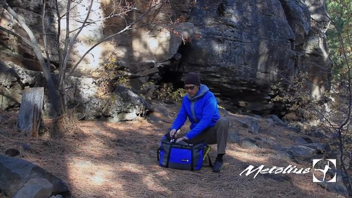 METOLIUS Vortex Rope Bag - image 5 from the video