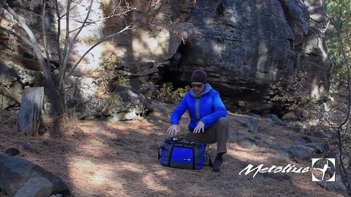 METOLIUS Vortex Rope Bag - image 6 from the video
