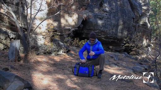 METOLIUS Vortex Rope Bag - image 7 from the video