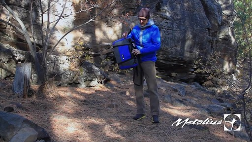 METOLIUS Vortex Rope Bag - image 8 from the video