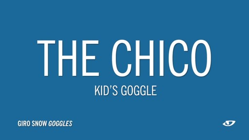 GIRO Kids' Chico Snow Goggles - image 10 from the video