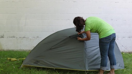 How to set up the EMS Velocity 1 Tent: Eastern Mountain Sports - image 10 from the video