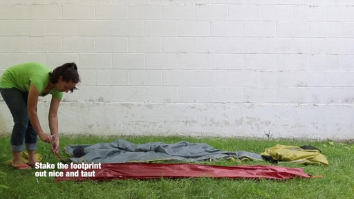 How to set up the EMS Velocity 1 Tent: Eastern Mountain Sports - image 2 from the video