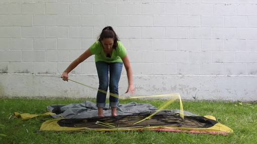 How to set up the EMS Velocity 1 Tent: Eastern Mountain Sports - image 4 from the video