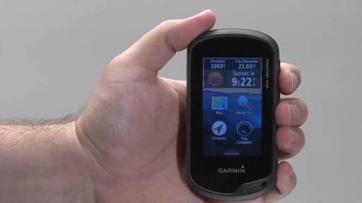 GARMIN Oregon 600 & 650 - Tracks - image 3 from the video