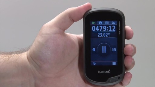 GARMIN Oregon 600 & 650 - Tracks - image 5 from the video