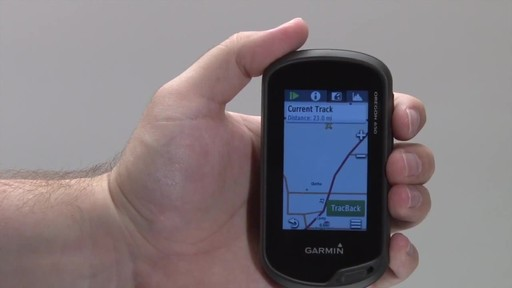 GARMIN Oregon 600 & 650 - Tracks - image 9 from the video