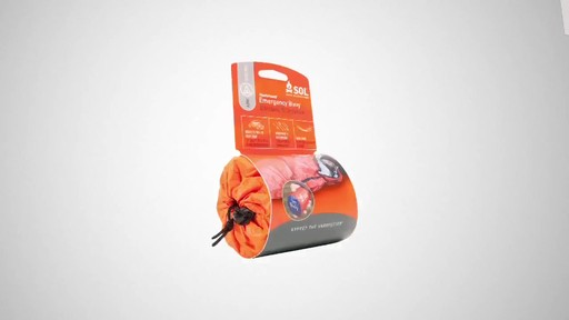AMK SOL 2-Person Emergency Bivy - image 1 from the video