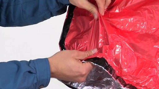 AMK SOL 2-Person Emergency Bivy - image 4 from the video