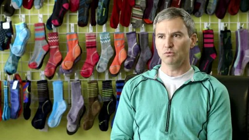 Possibly the best running socks... ever. SmartWool PHD Elite's creation explained. - image 7 from the video