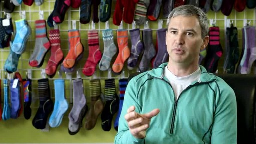Possibly the best running socks... ever. SmartWool PHD Elite's creation explained. - image 8 from the video