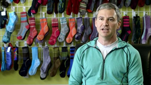 Possibly the best running socks... ever. SmartWool PHD Elite's creation explained. - image 9 from the video