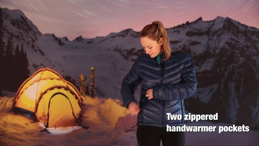 EMS Women's Meridian Down Jacket - image 3 from the video