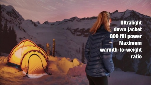 EMS Women's Meridian Down Jacket - image 5 from the video