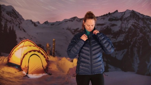 EMS Women's Meridian Down Jacket - image 7 from the video