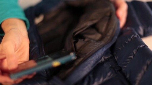 EMS Women's Meridian Down Jacket - image 8 from the video