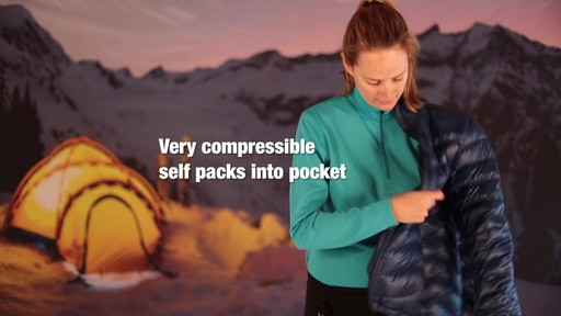 EMS Women's Meridian Down Jacket - image 9 from the video