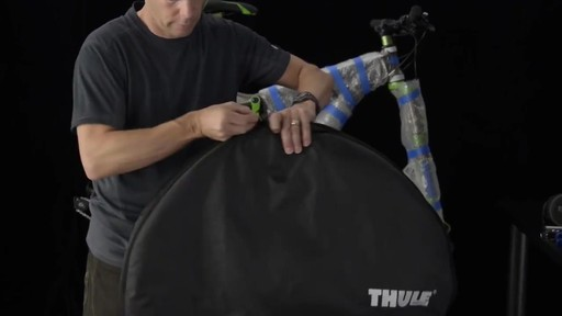 THULE Round Trip Transition Bike Travel Case - image 4 from the video