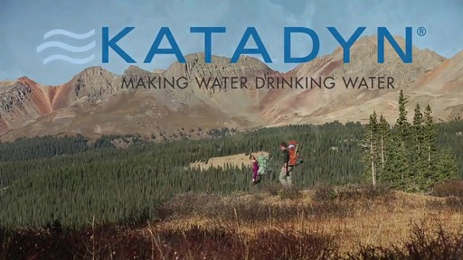 KATADYN Hiker Pro Water Filter - image 1 from the video