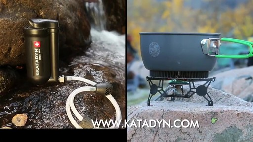 KATADYN Hiker Pro Water Filter - image 10 from the video