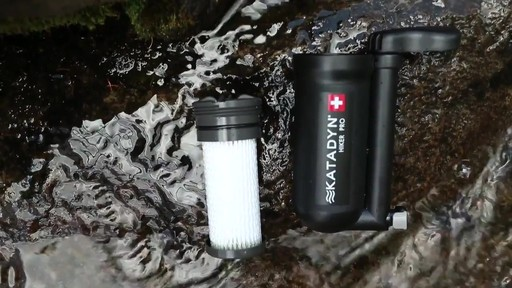 KATADYN Hiker Pro Water Filter - image 6 from the video