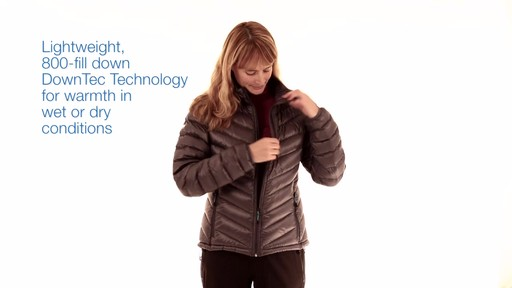 EMS Women's Meridian Down Jacket - image 1 from the video