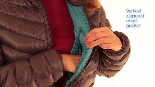 EMS Women's Meridian Down Jacket - image 2 from the video