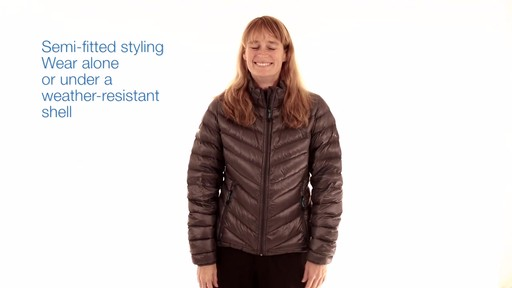 EMS Women's Meridian Down Jacket - image 6 from the video