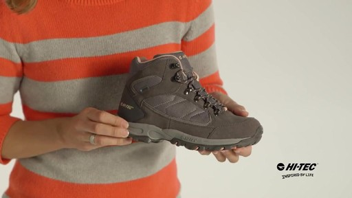 HI-TEC Oregon II Mid Waterproof Hiking Boots - image 4 from the video