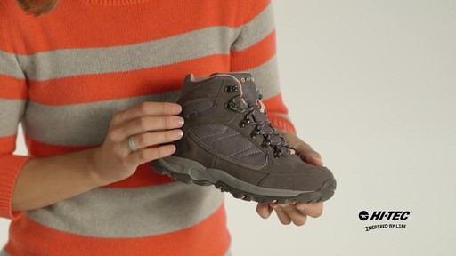 HI-TEC Oregon II Mid Waterproof Hiking Boots - image 5 from the video