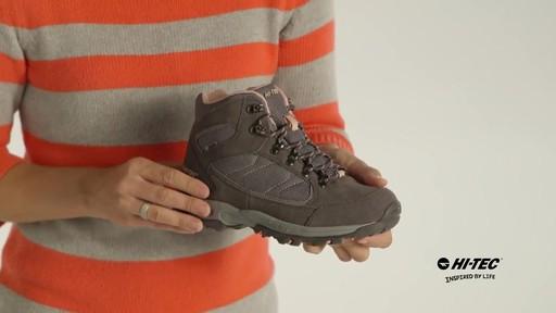 HI-TEC Oregon II Mid Waterproof Hiking Boots - image 7 from the video