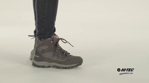 HI-TEC Oregon II Mid Waterproof Hiking Boots - image 9 from the video