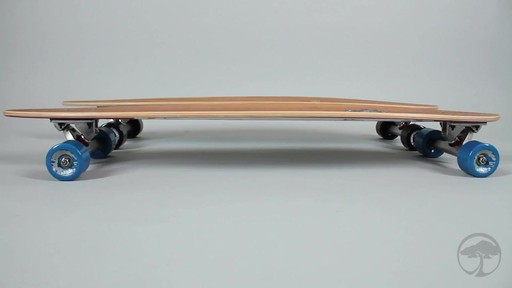 ARBOR Fish Bamboo Longboard - image 7 from the video