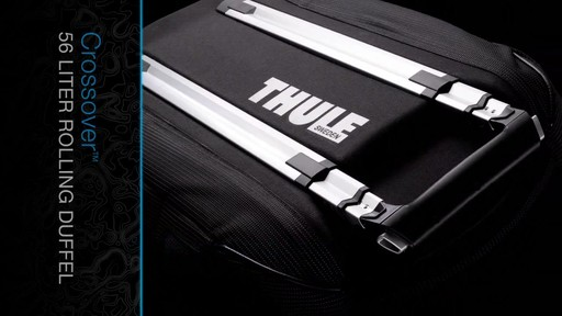 THULE Crossover 56 L Rolling Duffel - image 4 from the video