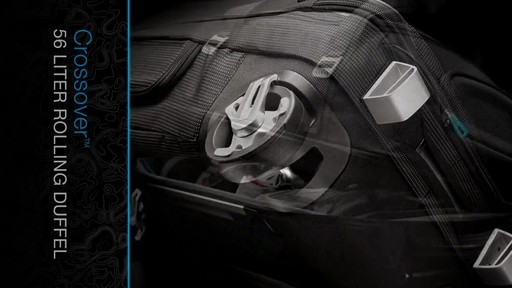 THULE Crossover 56 L Rolling Duffel - image 6 from the video