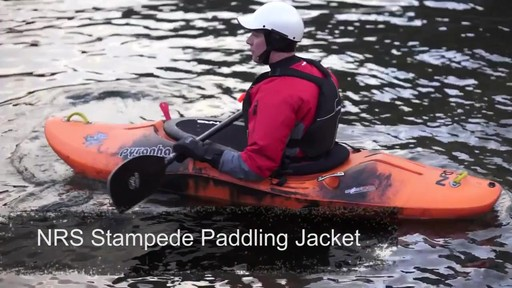 NRS Stampede Paddling Jacket - image 1 from the video
