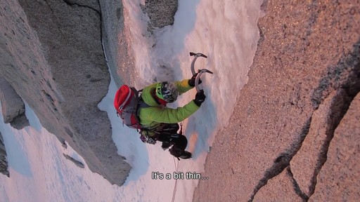PETZL Ergo, Nomic and Quark Ice Axes - image 2 from the video