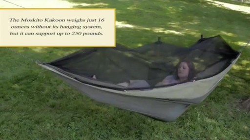 BYER Moskito Kakoon Hammock - image 2 from the video