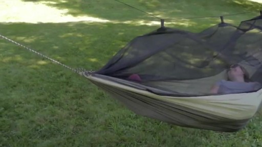 BYER Moskito Kakoon Hammock - image 3 from the video