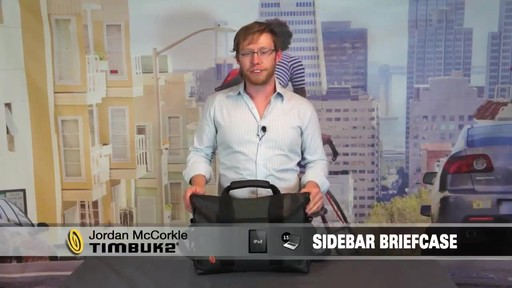 TIMBUK2 Sidebar Briefcase - image 1 from the video