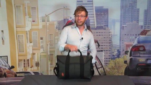 TIMBUK2 Sidebar Briefcase - image 2 from the video
