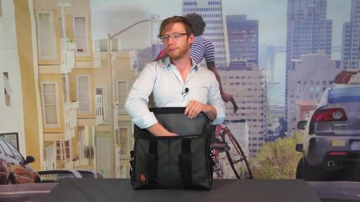 TIMBUK2 Sidebar Briefcase - image 4 from the video