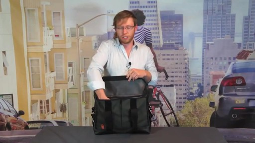 TIMBUK2 Sidebar Briefcase - image 5 from the video