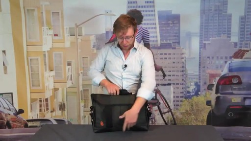 TIMBUK2 Sidebar Briefcase - image 6 from the video
