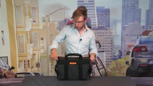 TIMBUK2 Sidebar Briefcase - image 9 from the video