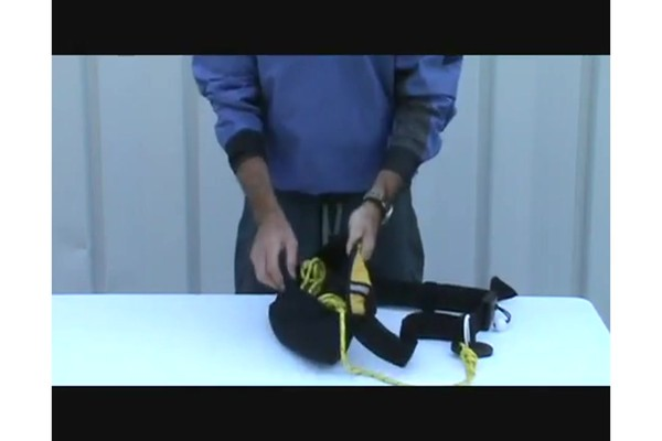 SEALS How to Use a Tow Rope Belt - image 2 from the video