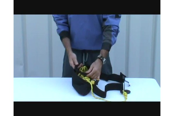 SEALS How to Use a Tow Rope Belt - image 3 from the video