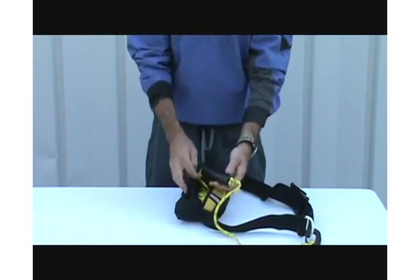 SEALS How to Use a Tow Rope Belt - image 6 from the video
